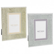 Silver Champ Weave Frame 4x6
